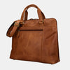 Leather Laptop Briefcase Messenger Bag Brown | Finelaer
