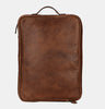 Finelaer Brown Leather Business Portfolio Document Folder