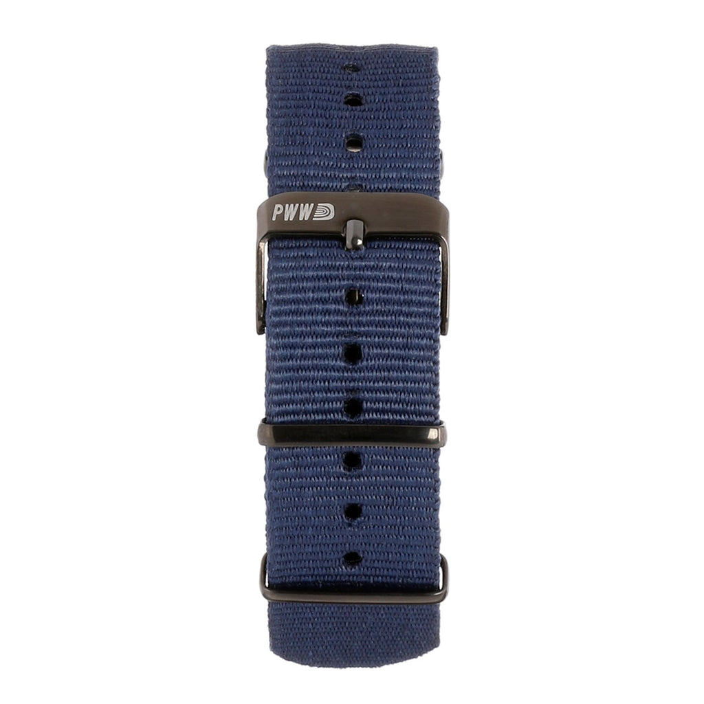 Signature NATO Strap 20mm - Navy Blue
