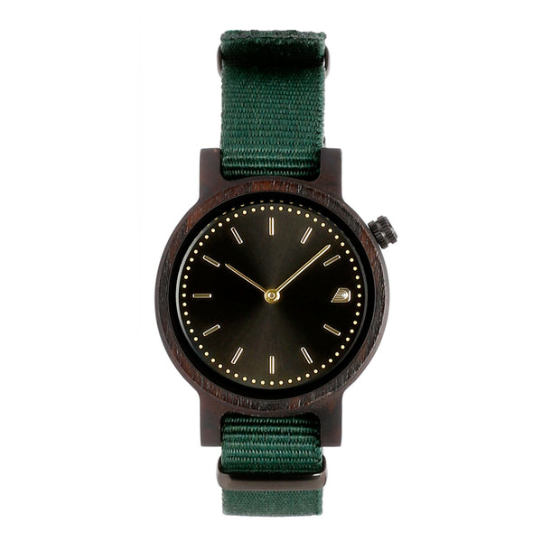 [Prime] 1.0.0 Dark Hardwood - 34mm Forest Green