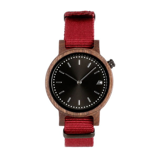 [Prime] 1.1.0 Walnut Wood - 34mm Burgundy
