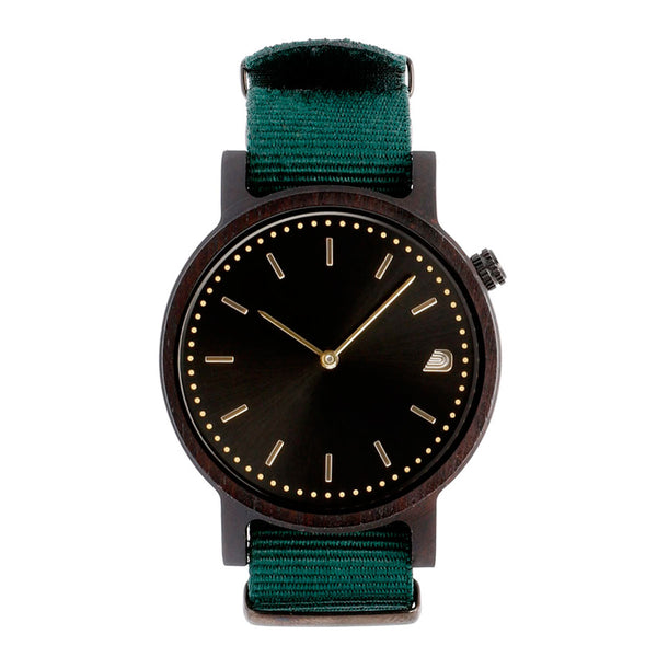 [Prime] 1.0.1 Dark Hardwood - 42mm Forest Green