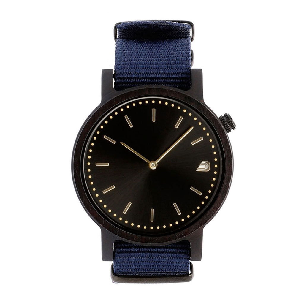 [Prime] 1.0.1 Dark Hardwood - 42mm Navy Blue