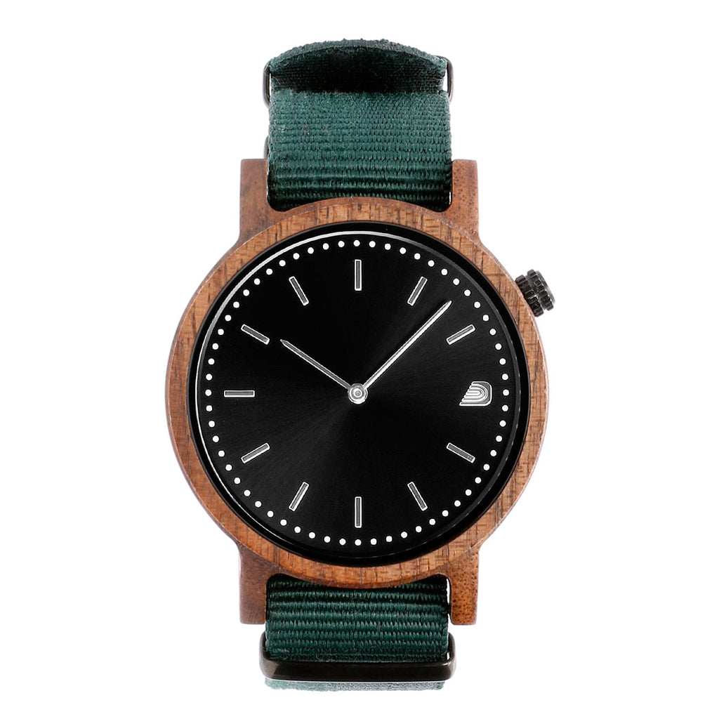 [Prime] 1.1.1 Walnut Wood- 42mm Forest Green