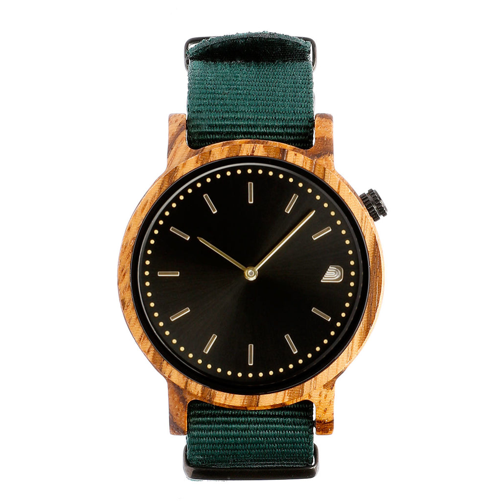 [Prime] 1.2.1 Zebrawood - 42mm Forest Green