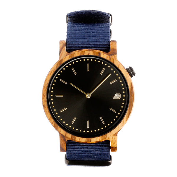 [Prime] 1.2.1 Zebrawood - 42mm Navy Blue