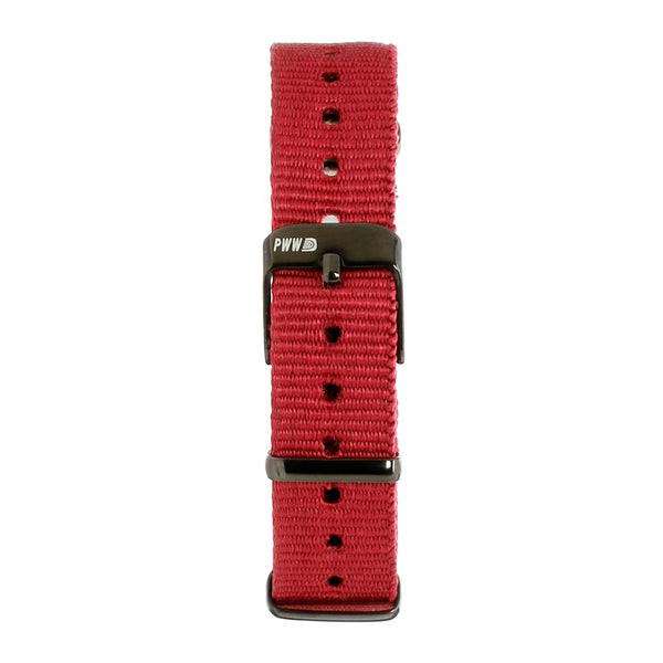 Signature NATO Strap 14mm - Burgundy