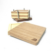 Signature Square Coasters Set with Holder