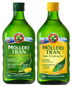 Möller's Cod Liver Oil (500ml)