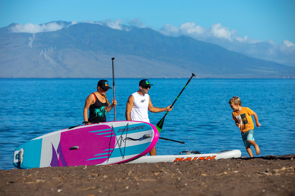 Naish 2020 Inflatable SUP - Stiffer is better!