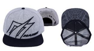 Naish Grey Diamond Snapback Cap - Soft Tech - Naish - KiteSurfSUPUAE