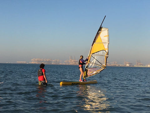 Learn to Windsurf in Dubai
