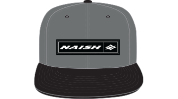 Naish Rectangle Patch Snapback Cap-Grey