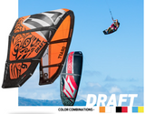 2014 Naish Draft 7m (With bar & lines) - Kites - Naish - KiteSurfSUPUAE