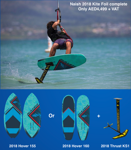 Naish 2018 kite foil and board package