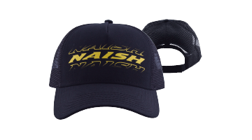 Naish Black Trucker Hat Mk 2 - Soft Tech - Naish - KiteSurfSUPUAE