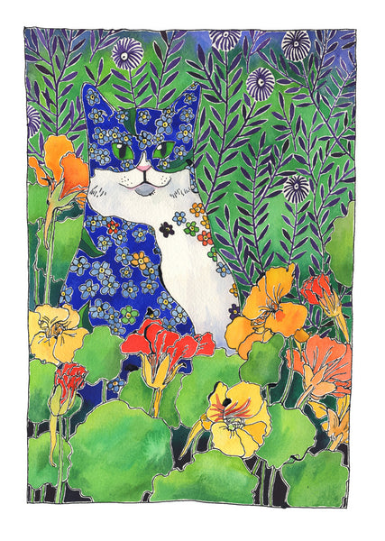 Florence - Forget Me Not Cat