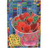 Digital Fine Art Print - Flowers & Food & Still Lifes -  Pink Bowl and Red Strawberries  - Tangerine Meg Gallery Shop - 10