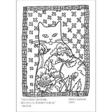 Coloring Pages for Adults - Tangerine Meg Gallery Shop