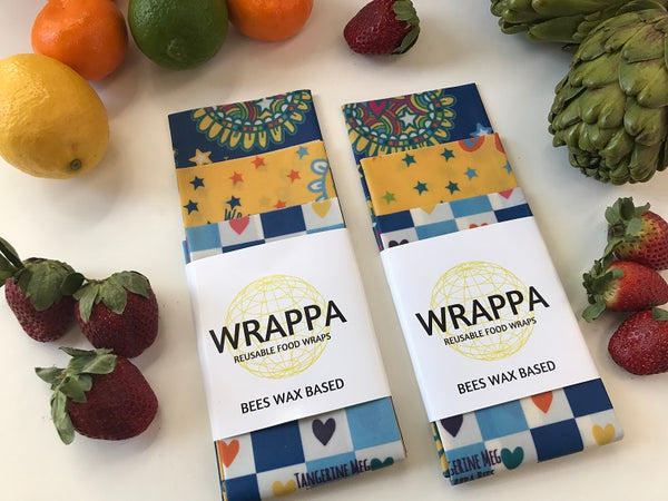 Reusable Wax Food Wraps - Exclusive Collaboration