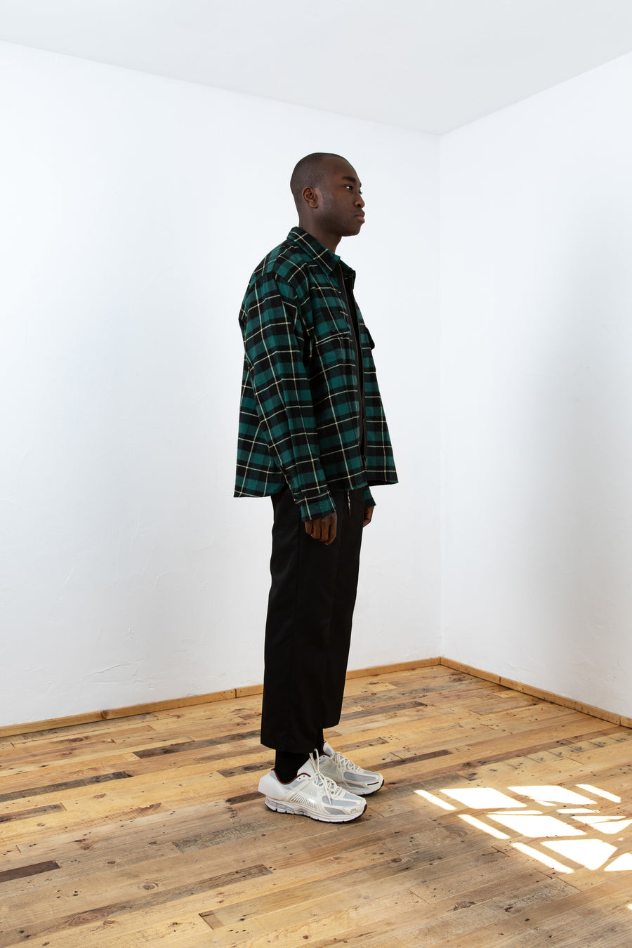 Flannel Zipper V2 GR