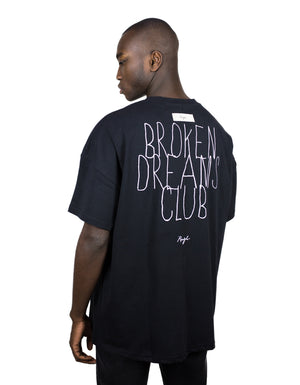 "Shirt black - ""Broken Dreams Club"""