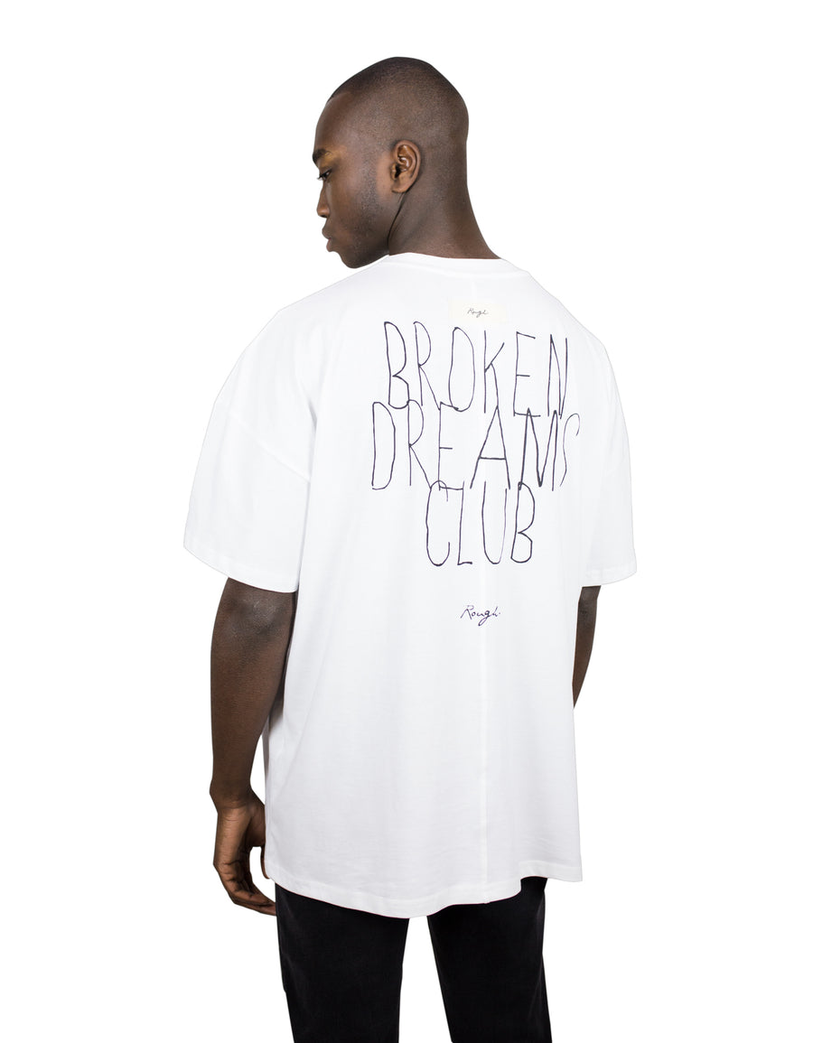 "Shirt white - ""Broken Dreams Club"""