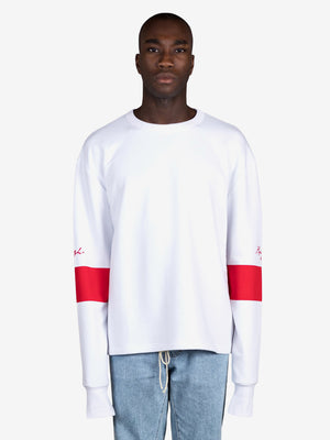 Sweater white - Tape