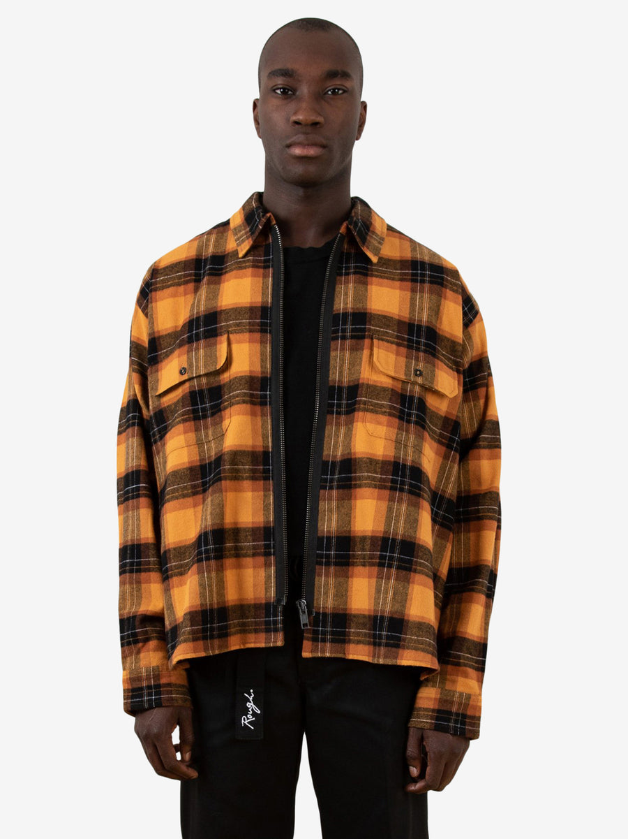 Flannel Zipper V2 BG