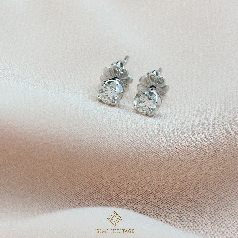 Diamond Stud earrings 0.18ct each