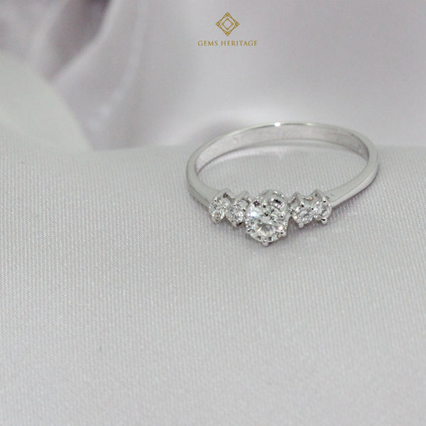 Diamond ring 0.20 cts