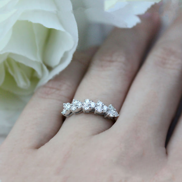heart illusion diamond ring