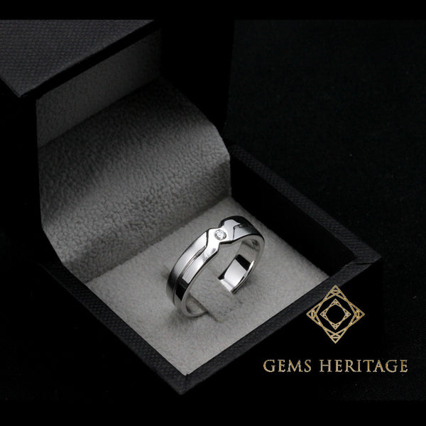 Men engagement ring