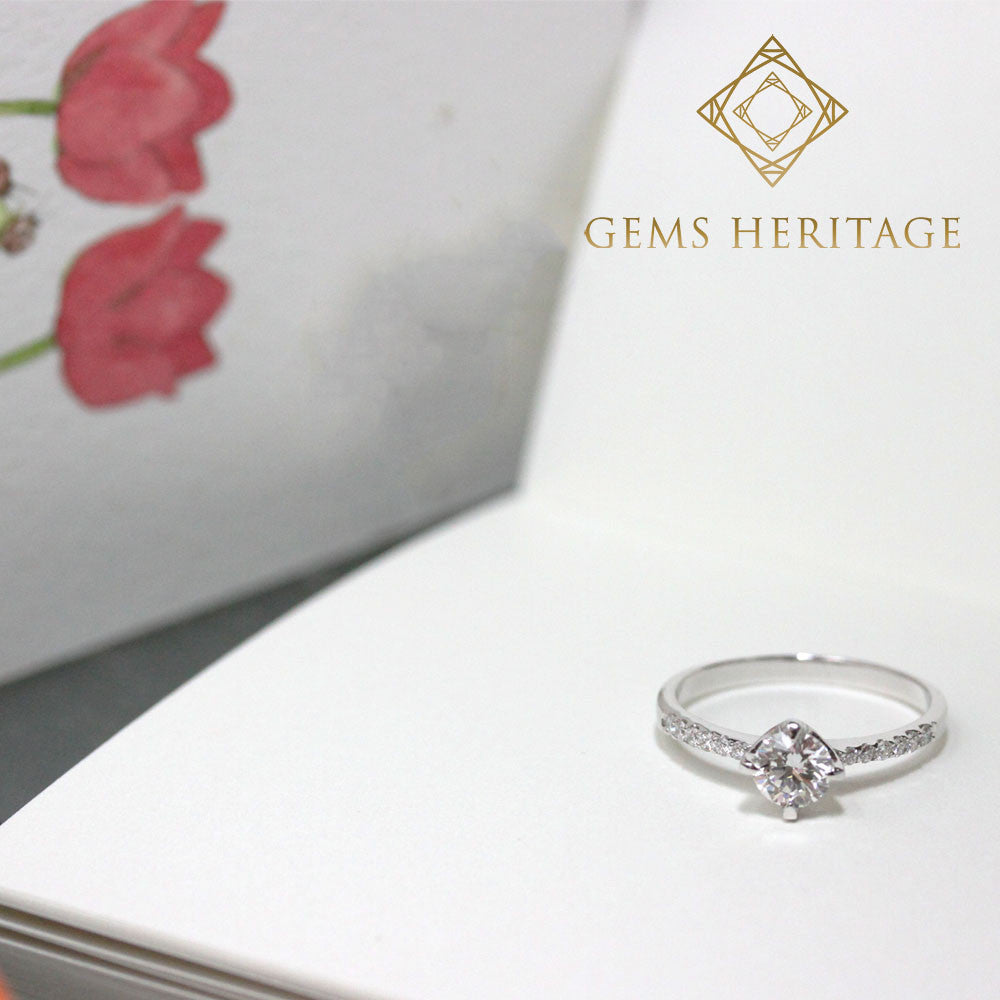 Half carat Diamond ring
