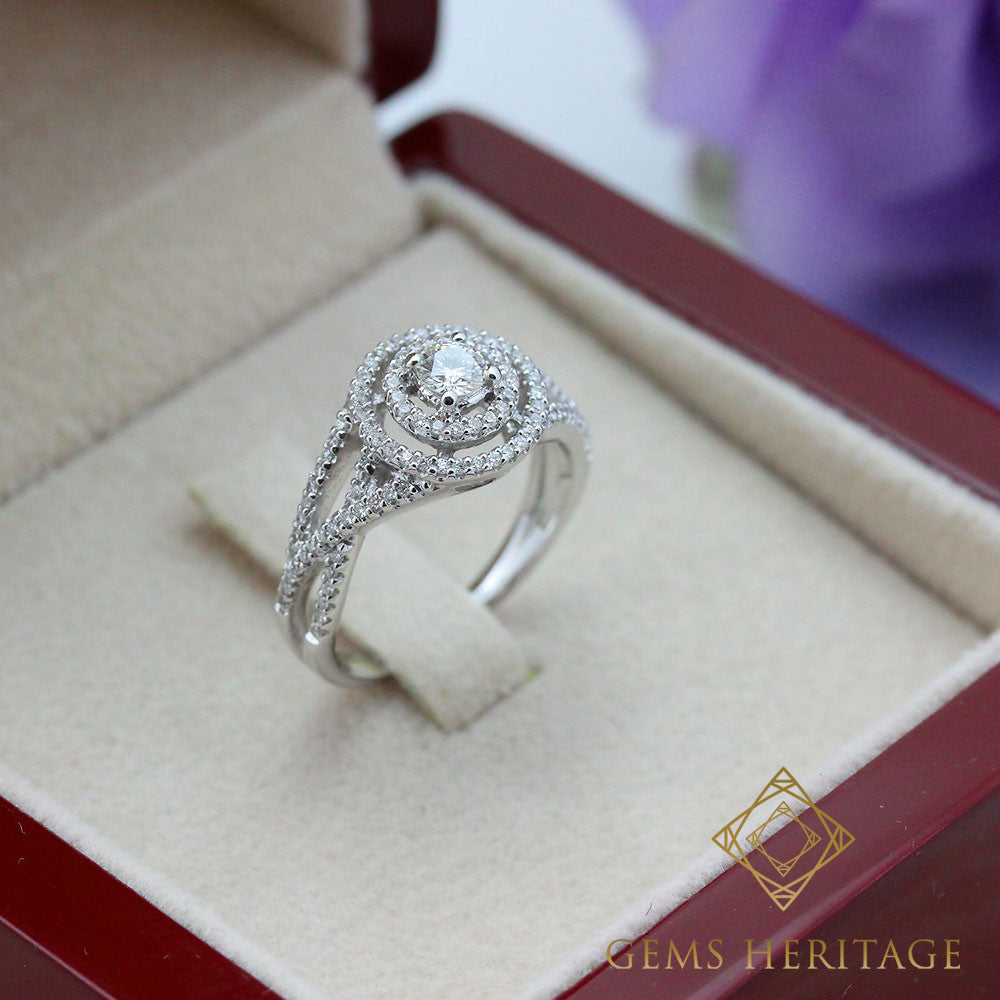Intricacy diamond ring