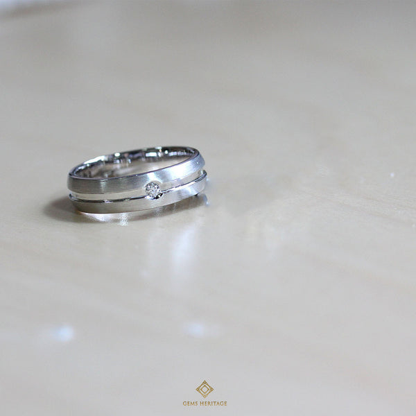 0.05 cts Men's Diamond ring