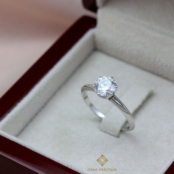 1.07 carats Solitaire ring