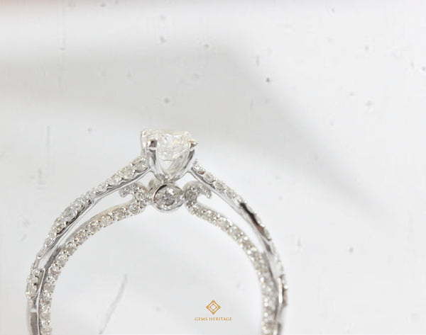 Romantique Diamond Ring