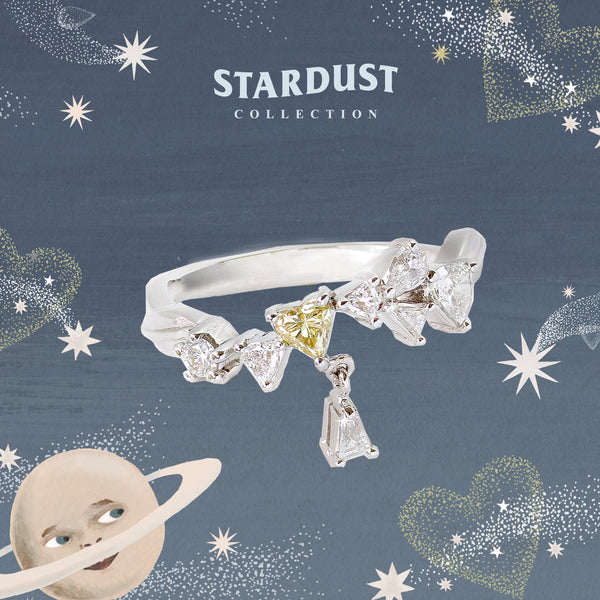 STARDUST FROSTY LEO RING