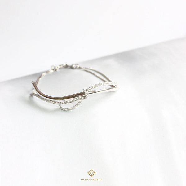 Amour diamond bracelet