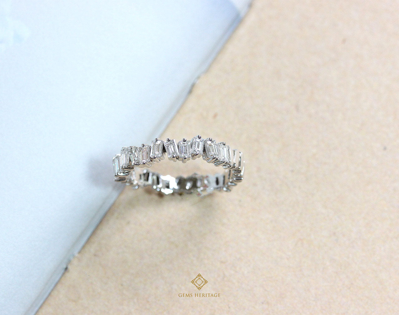 Baguettes Band Diamond ring