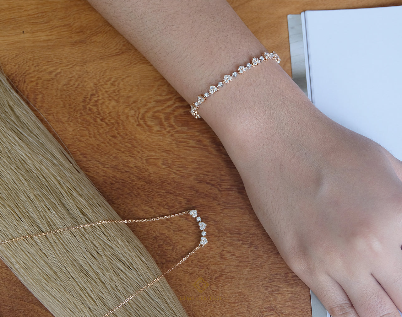 Heart Diamond Bracelets