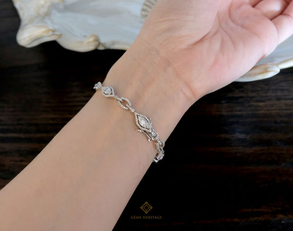 Chain Diamond Bracelet