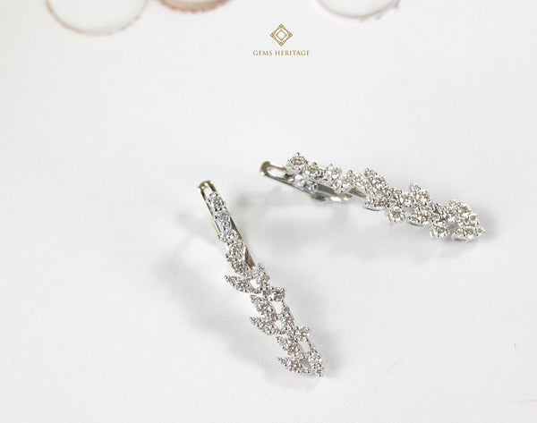 Marquise Fall diamond earrings