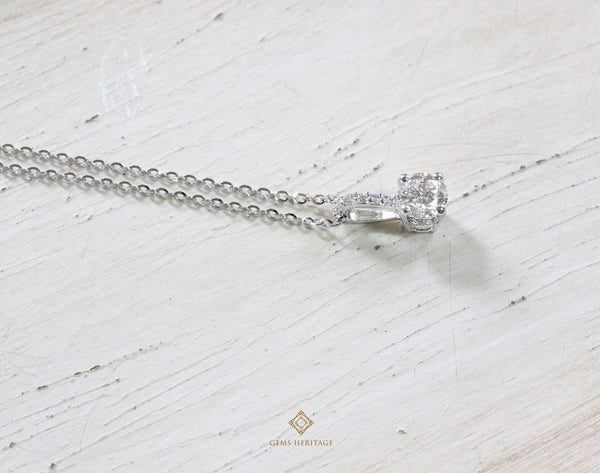 Simple Diamond pendant