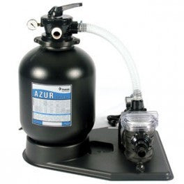 15'' Azur/Onga Sand Filter with Pump - 0.5HP Pump