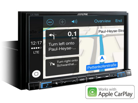 "iLX-702D - Système Multimédia 7"" Apple CarPlay & Android Auto"