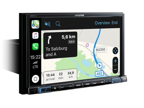 "X803D-U - Système de Navigation 8"", Apple CarPlay & Android Auto"