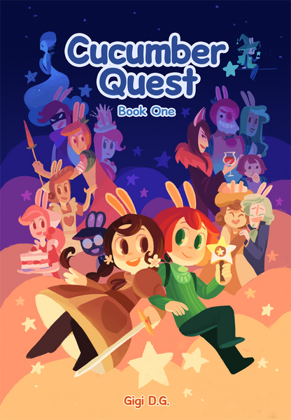 Cucumber Quest Book 1 (Hardcover)