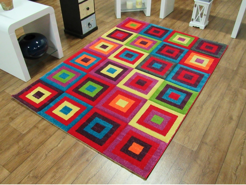 CANDY SQUARES RUG